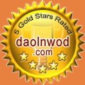 Rated 5 stars by DaolnwoD.com
